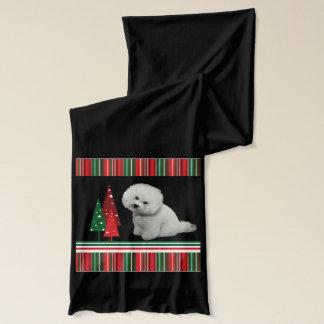 Bichon Christmas Scarf