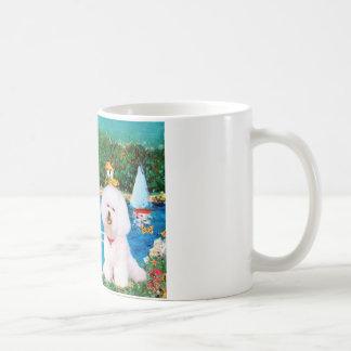 Bichon Frise 1 - Sailboats 1 Coffee Mug