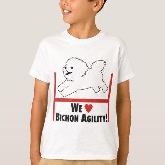 Bichon Frise - Bichon Agility Love T-Shirt