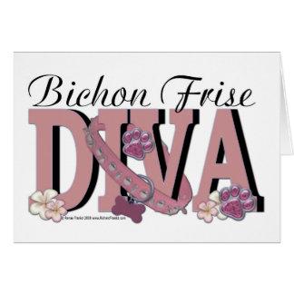 Bichon Frise DIVA Card