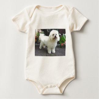 Bichon Frisé Dog Baby Bodysuit