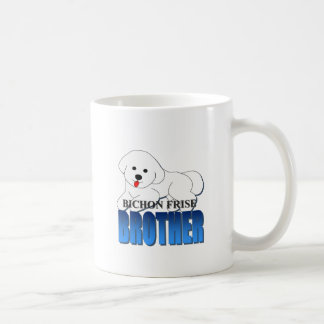Bichon Frise Dog Brother Coffee Mug