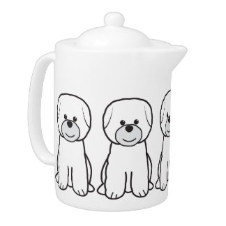 Bichon Frise Dog Cartoon