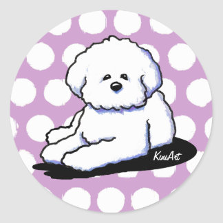 Bichon Frise Dog Stickers