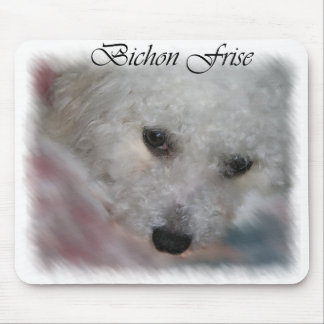 Bichon Frise Gifts Mouse Pad