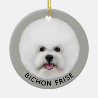 Bichon Frise Illustrated Ornament