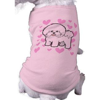 Bichon Frise Love Doggie T Shirt