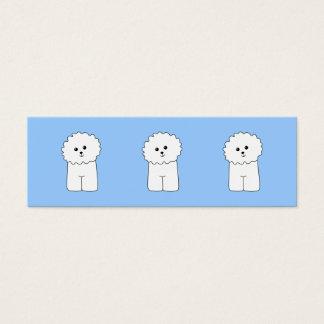 Bichon Frise. Mini Business Card