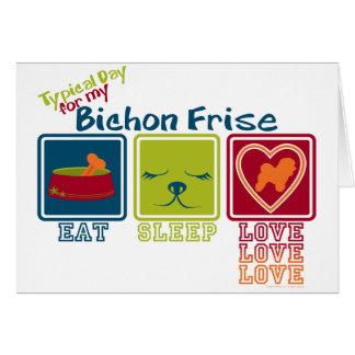 Bichon Frise Note Card
