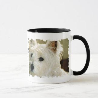 Bichon Frise Puppy Coffee Cup