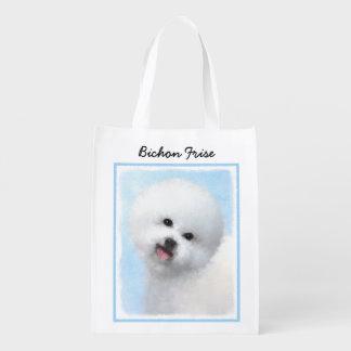 Bichon Frise Reusable Grocery Bag