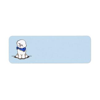 Bichon Frise Sailor Boy Blue
