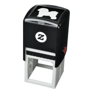 Bichon Frise Silhouette Self-inking Stamp