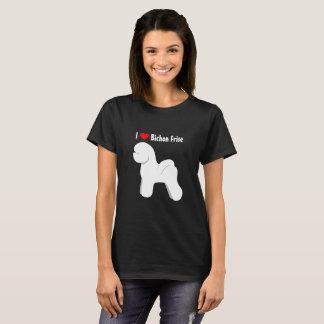 Bichon Frise Silhouette T-Shirt