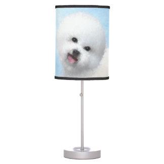 Bichon Frise Table Lamp