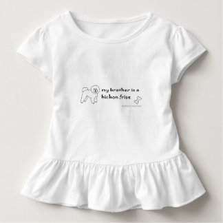 bichon frise toddler t-shirt