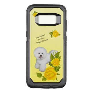 Bichon Frise, with Yellow Roses OtterBox Commuter Samsung Galaxy S8 Case