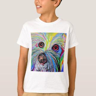 Bichon in Blue Tones T-Shirt