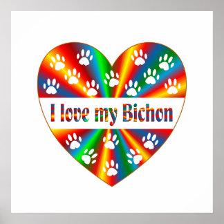 Bichon Love Poster