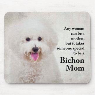 Bichon Mom Mousepad