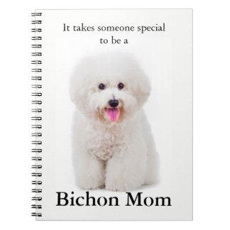 Bichon Mom Notebook