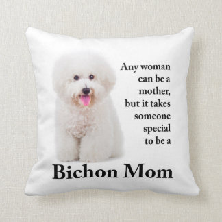 Bichon Mom Pillow