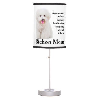 Bichon Mom Table Lamp