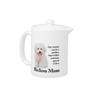 Bichon Mom Teapot