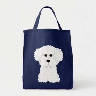 Bichon Puppy Tote Bag