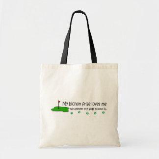 BichonFrise Tote Bag