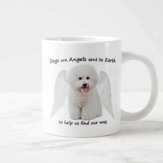 Bichons are Angels Jumbo Mug