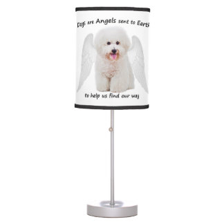 Bichons are Angels Lamp