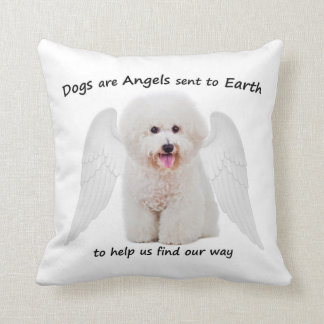 Bichons are Angels Pillow