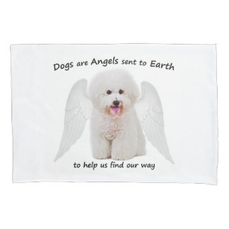 Bichons are Angels Pillowcase