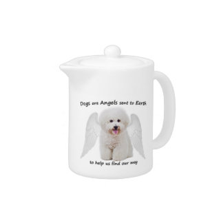 Bichons are Angels Teapot