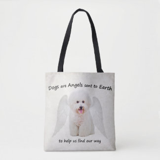 Bichons are Angels Tote