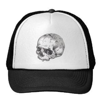 Bicolored cap Skull Trucker Hat