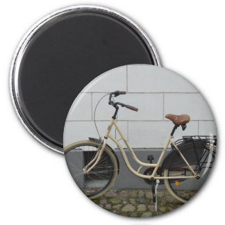 Bicycle 2 Inch Round Magnet