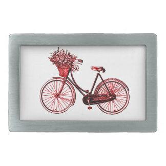 Bicycle 2 rectangular belt buckle