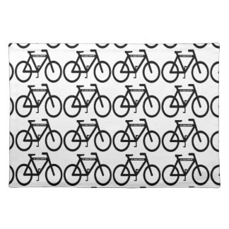 Bicycle Abstract Placemat