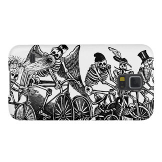 Bicycle Art - Vintage - Skeletons Cycling Galaxy S5 Covers