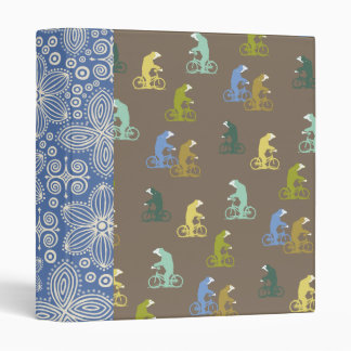 Bicycle Bears Binder