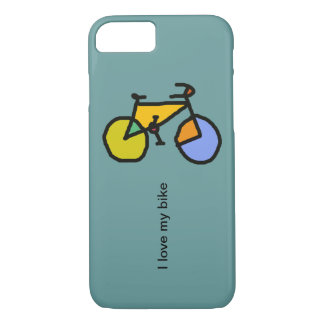 bicycle : bikes ; cyclist cool iPhone 7 case