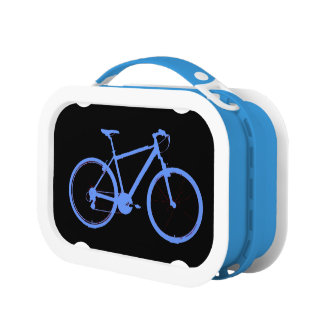 bicycle - biking + bike lunch box