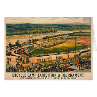 Bicycle Camp 1883 Card