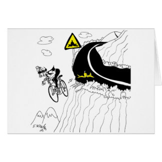 Bicycle Cartoon 9334 Card