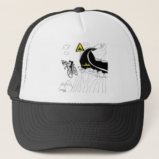 Bicycle Cartoon 9334 Trucker Hat