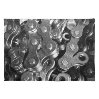 Bicycle Chain Links Placemat