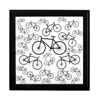 Bicycle Collage Keepsake Boxes