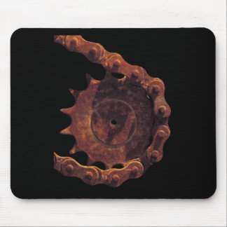 Bicycle Cycle Bicycling Cycling Chain Gear Mouse Pad